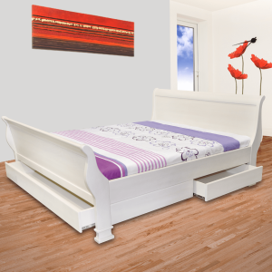 London Bed with footboard